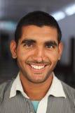 Glimlachende Indische mens Royalty-vrije Stock Foto's