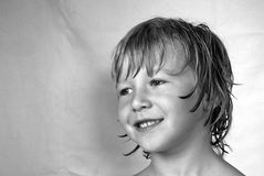 Glimlachende Jongen royalty-vrije stock afbeeldingen