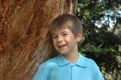 Glimlachende Jongen royalty-vrije stock foto
