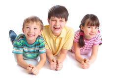 Glimlachende kinderen royalty-vrije stock fotografie