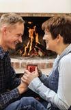 Glimlachende Man en Vrouw Royalty-vrije Stock Fotografie