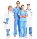 Glimlachende medische verpleegster royalty-vrije stock afbeeldingen