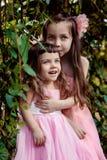 Glimlachende meisjes Royalty-vrije Stock Fotografie