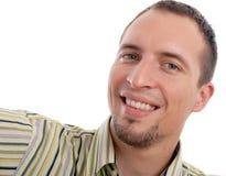 Glimlachende mens Royalty-vrije Stock Afbeeldingen