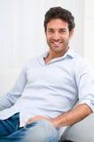 Glimlachende mens Royalty-vrije Stock Foto