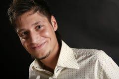 Glimlachende mens Royalty-vrije Stock Foto's