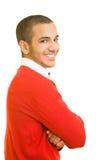Glimlachende mens Royalty-vrije Stock Afbeelding