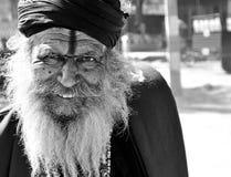 Glimlachende mens Rajasthani Royalty-vrije Stock Afbeelding