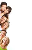 Glimlachende mensen Royalty-vrije Stock Foto's