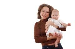 Glimlachende moeder Royalty-vrije Stock Fotografie