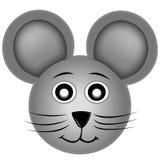 Glimlachende muis vector illustratie