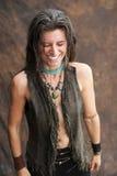 Glimlachende Natuurlijke Vrouw Royalty-vrije Stock Foto