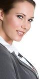 Glimlachende Professionele Vrouw Stock Foto
