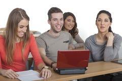 Glimlachende Studenten Stock Fotografie