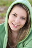 Glimlachende Tiener Stock Fotografie