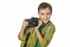 Glimlachende tiener Royalty-vrije Stock Fotografie