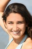 Glimlachende tiener royalty-vrije stock afbeeldingen