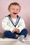 Glimlachende uitstekende jongen royalty-vrije stock foto's