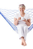 Glimlachende vrouw Royalty-vrije Stock Foto
