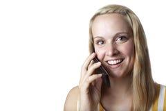Glimlachende Vrouw Stock Afbeelding