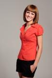 Glimlachende vrouw Royalty-vrije Stock Foto's