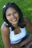 Glimlachende Vrouw Stock Afbeeldingen