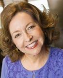 Glimlachende vrouw. royalty-vrije stock fotografie