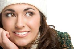 Glimlachende Vrouw Stock Foto
