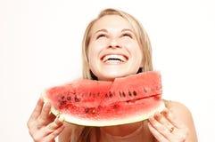Glimlachende vrouw Royalty-vrije Stock Afbeelding