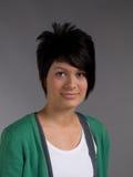 Glimlachende vrouwelijke tiener Stock Foto's