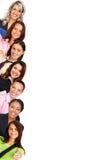 Glimlachende vrouwen Stock Afbeeldingen