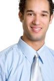 Glimlachende Zakenman Royalty-vrije Stock Foto