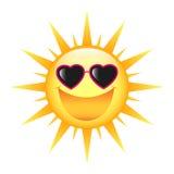 Glimlachende Zon royalty-vrije stock afbeeldingen