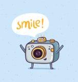 Glimlachfoto Stock Fotografie