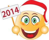 Glimlachnieuwjaar, Kerstmis. Glimlach. Royalty-vrije Stock Foto's