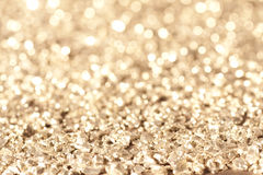 Glimmer gold Royalty Free Stock Photos