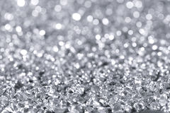 Glimmer silver royalty free stock photography