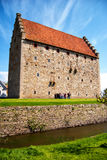 glimmingehus för 05 slott Arkivbild