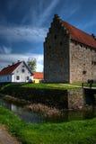 glimmingehushdr för 02 slott Arkivbild