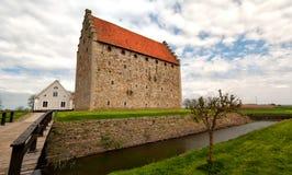 glimmingehuspanorama för 04 slott Arkivfoton
