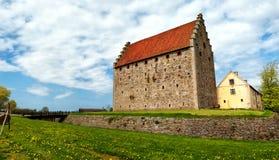 glimmingehuspanorama för 05 slott Royaltyfria Bilder