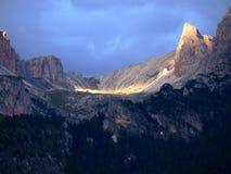 Glimp van berg Cir Royalty-vrije Stock Foto's