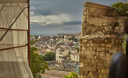 Glimp van Cagliari stock fotografie