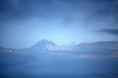 Glimpse of Annapurna range Royalty Free Stock Images