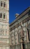 A glimpse of Basilica di Santa Maria del Fiore Stock Images