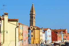 Glimpse of Burano Island, Venice Stock Photography