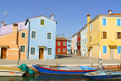 Glimpse of Burano Island, Venice Royalty Free Stock Photography
