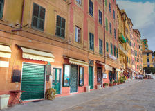 Glimpse of Camogli Royalty Free Stock Photos