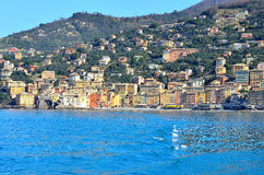Glimpse of Camogli Royalty Free Stock Photography