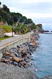 Glimpse of celle ligure Stock Images